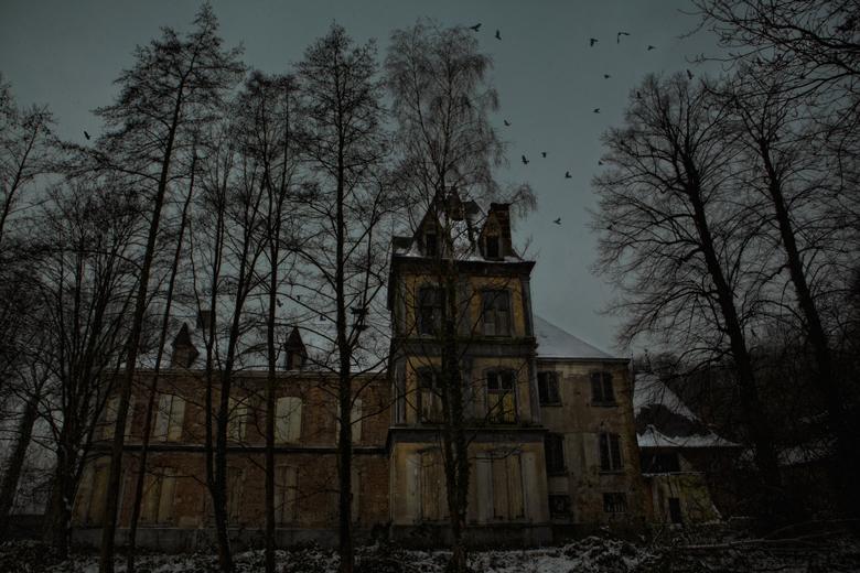 """Chateau Hof ter Beke - Ondanks een paar tegenvallertjes,vandaag een geweldig dagje Urbex met bakkerstephan <img  src=""""/images/smileys/wilt.png""""/><br /"""