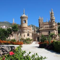 Castillo Colomares en Benalmadena