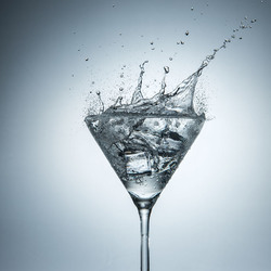Martini shaken, not sturred!