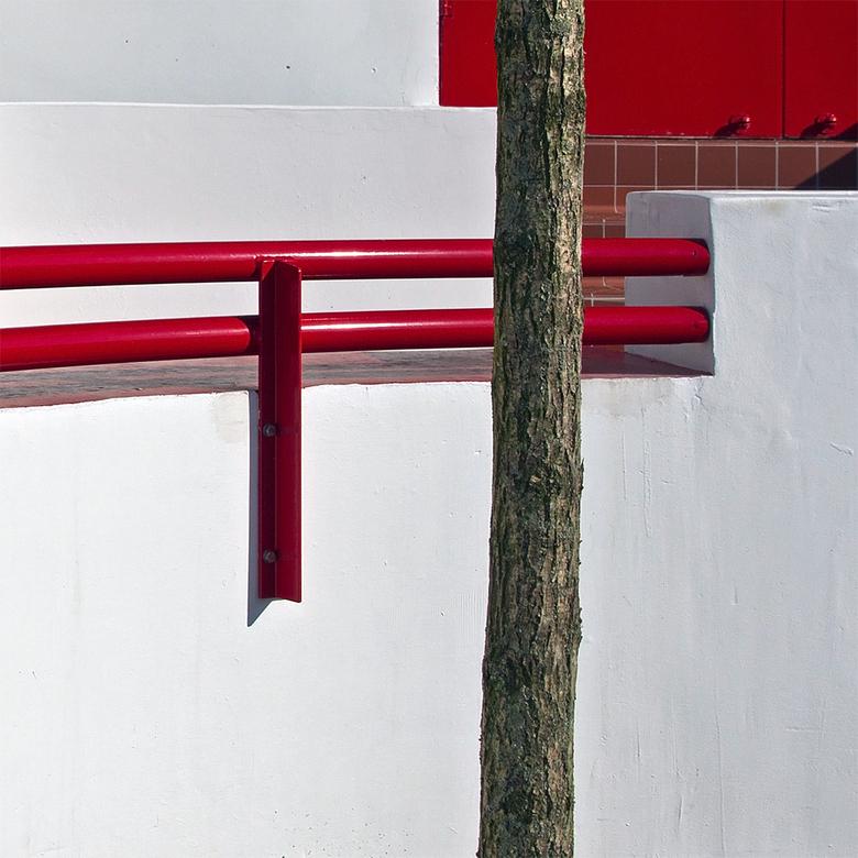 Villa Jongerius 9 - Het hekje vanaf de ander kant.