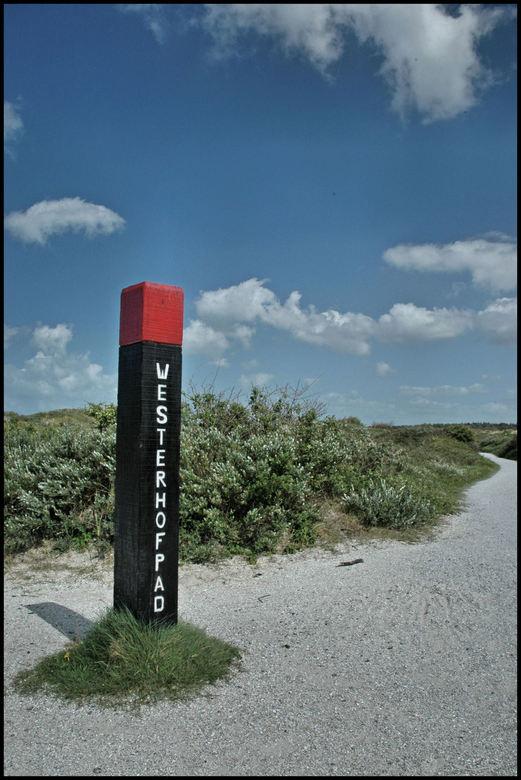 Westerhofpad - Schiermonnikoog 19 mei 2007 strandafgang aan de noordkant van het eiland.