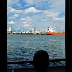 Zicht op de haven
