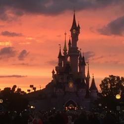 Disneyland sprookjes kasteel