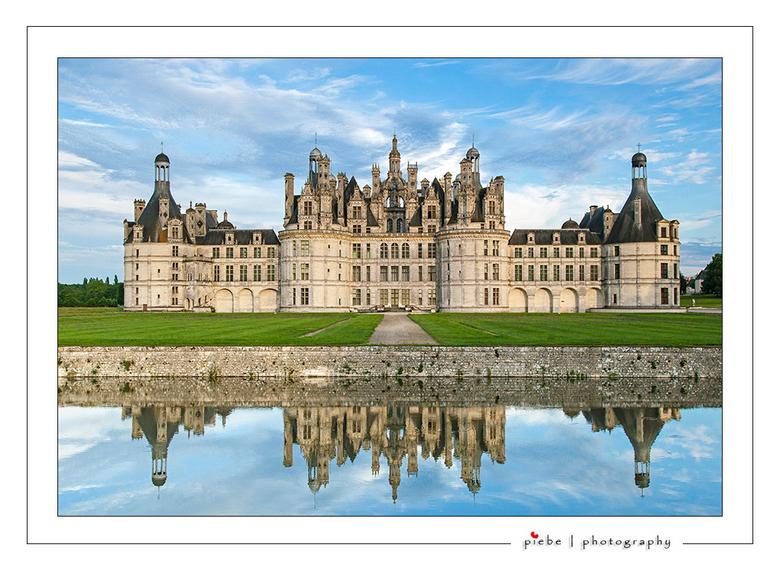 Chateau Chambord - Chambord,<br /> Het Kasteel van Chambord (Château de Chambord) is een kasteel bij Chambord in het departement Loir-et-Cher in het