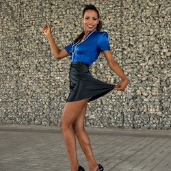 Pulling my skirt