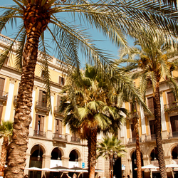 Barcelona, Pl Reial