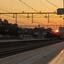 ondergaande zon station Apeldoorn