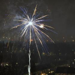 Oud en nieuw 2013 in Almere