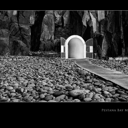 Ingang van de tunnel