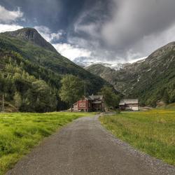 Folgefonn Odda Noorwegen