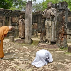 Eerbied voor Boeddha