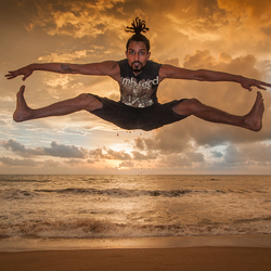 B-boy in Negombo