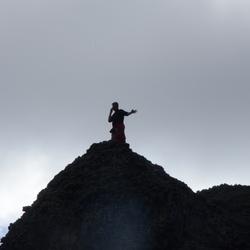 Bellen op de berg