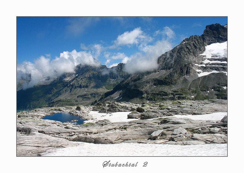 Stubachtal 2 - Bovenin het Stubachtal, Nationalpark Hohe Tauern Oostenrijk. Prachtig mooi. Als je wat durft te klimmen - goed te doen daar- wordt je g