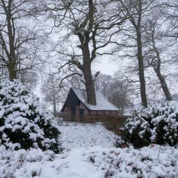 Twents sprookje in de sneeuw