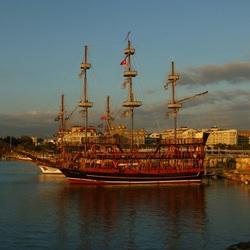 Turkse piratenboot
