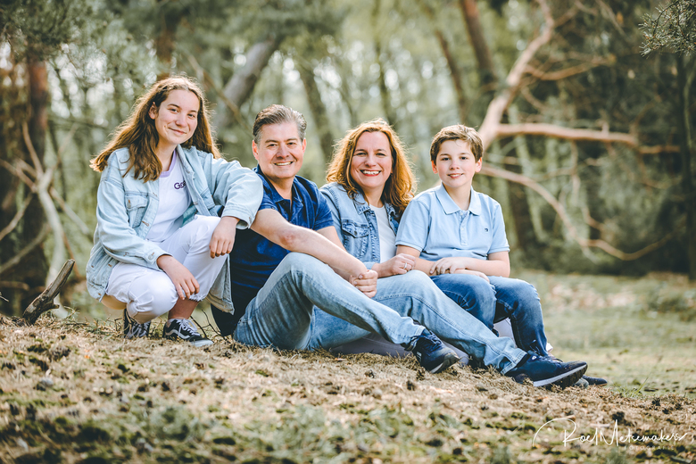 Family shoot groepsportret -
