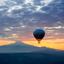 Cappadocië vanuit een luchtballon