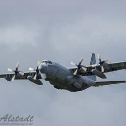 RNLAF Hercules take-off
