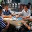 Mahjong spelen in Beijing
