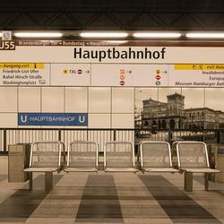 Berlijn - U-bahnhof Hauptbahnhof