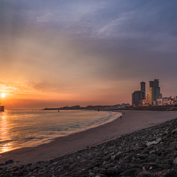 Vlissingen - Into the sunset