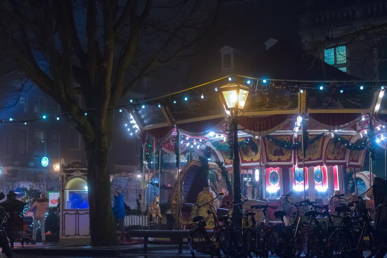 Leidse Kerstmarkt by Night