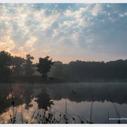 zonsopkomst boven de Hatertse Vennen