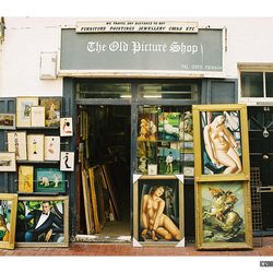 Old Picture Shop
