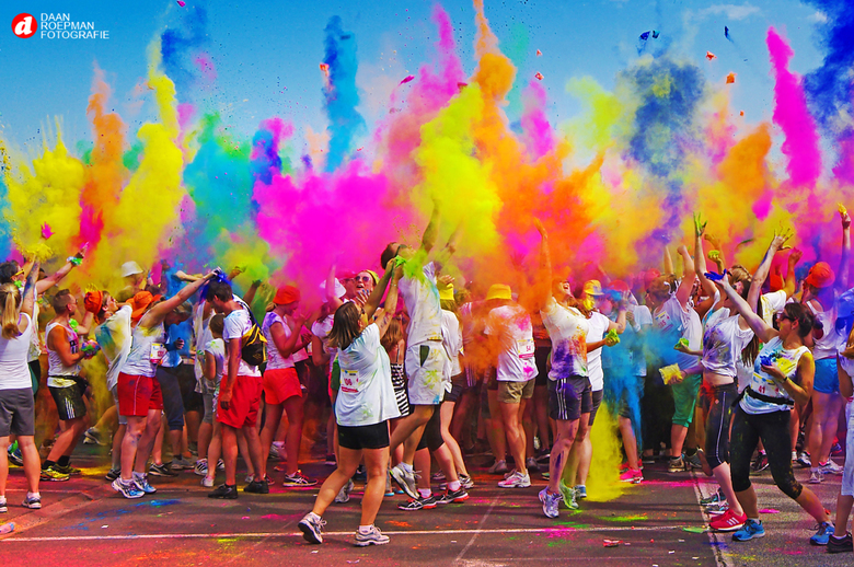 Color Run - Color Run Breda 2014 Toen kon dit gewoon nog.