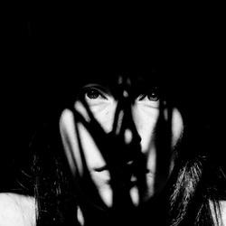 zelfportret zwart wit
