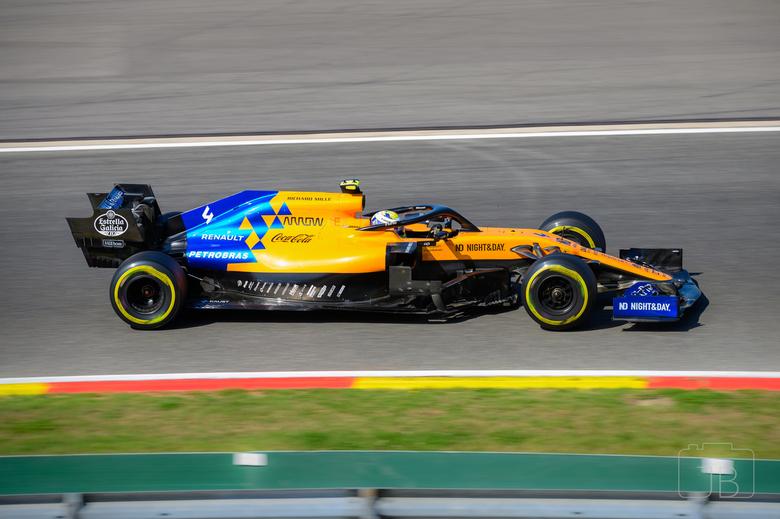 Lando Norris @ SPA - Formula 1 Belgian Grand Prix 2019<br /> Turn 10 (Bruxelles)