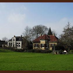 Dorpskern Mantgum Friesland