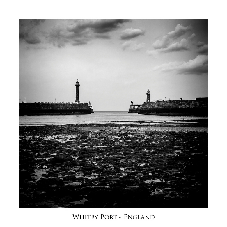 Whitby port - England
