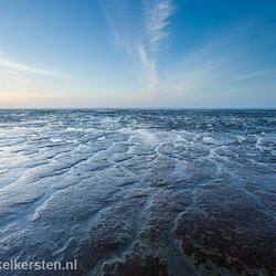 Muddy beach - Waddenzee - Moddergat