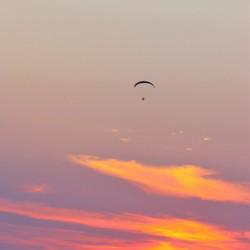De eenzame vlieger
