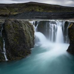 Sigoldufoss, IJsland