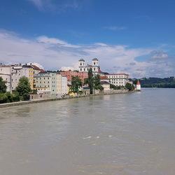 Boulevard van Passau Duitslamd