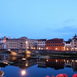 Florence bij avond