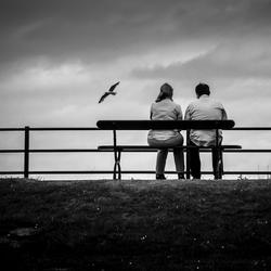 Samen op de bank