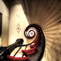 The headspinning staircase