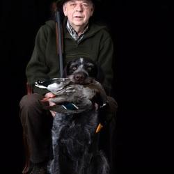 De jager en zijn hond