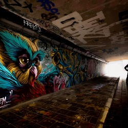 Tunnel of Art..
