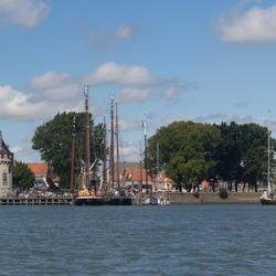 Lieftallig stadje aan het IJsselmeer