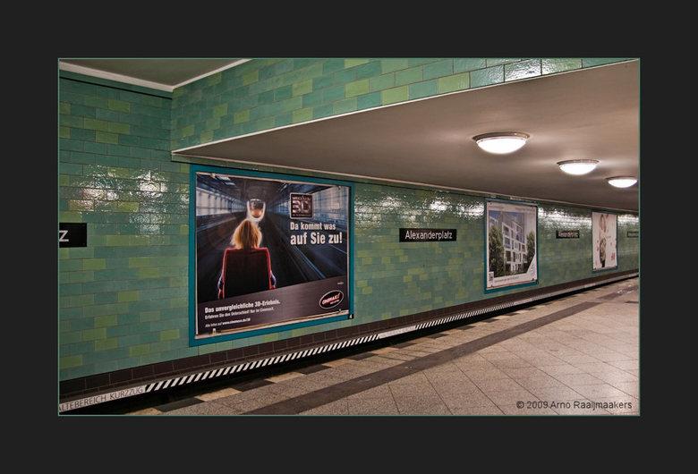 Berlijn81 - Berlijn... onuitputtelijk...<br /> De U-bahn mag niet ontbreken in de serie...