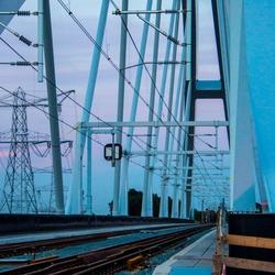 spoorbrug Muiderberg