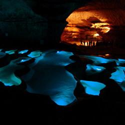 Moderne Grotten.
