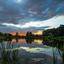 zonsondergang Vijver