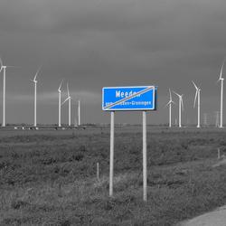 Omstreden windmolens bij Meeden