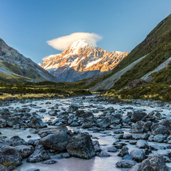 Hooker Valley Trail, Mount Cook